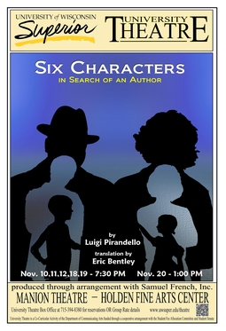 Six Characters in Search of an Author Poster