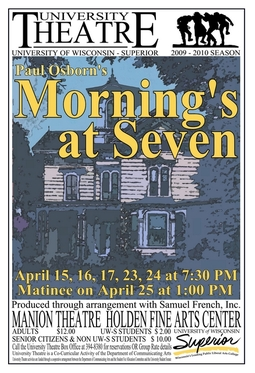 Morning's at Seven Poster