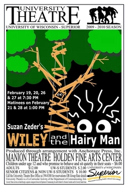 Wiley and the Hairy Man Poster