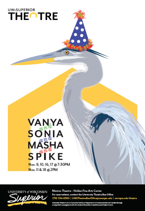 Vanya and Sonia and Masha and Spike Fall 2018