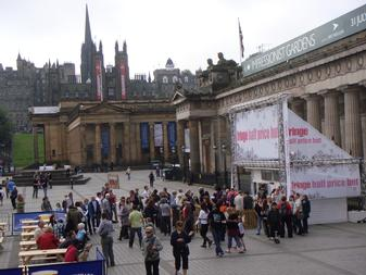 Festival Fringe ticket booth