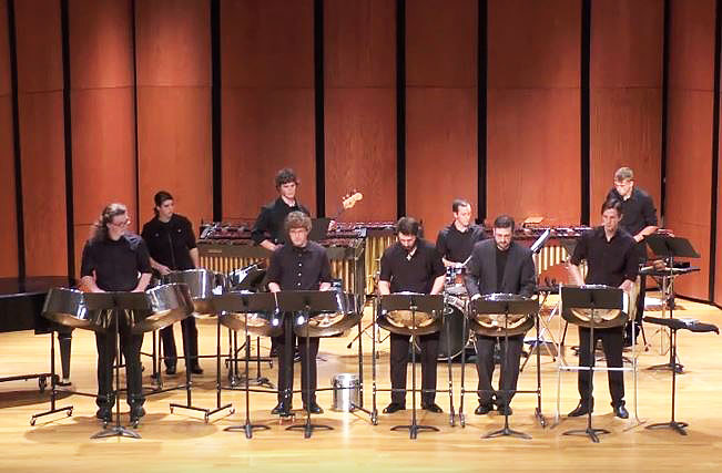UW-Superior steel drum ensemble COLD Steel