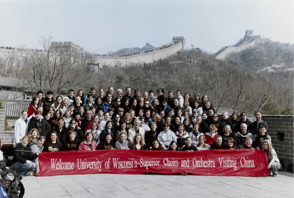 UW-Superior Choir in China