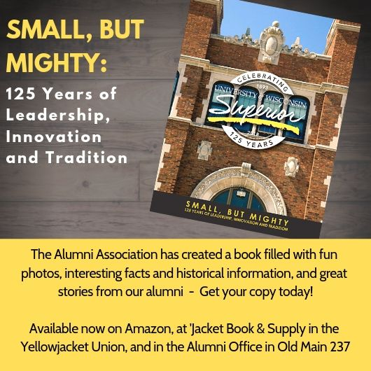 Order the UW-Superior Book: Small, But Mighty