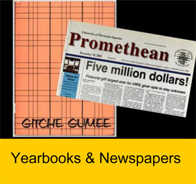 UW-Superior Yearbooks and Newspapers