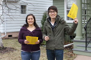 UW-Superior students do City leaflet project for academic service-learning