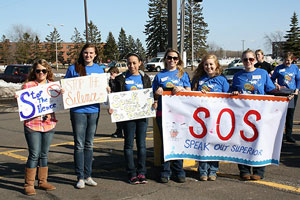 UW-Superior students do AS-L project for CASDA