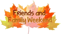 Friends and Family Weekend Logo
