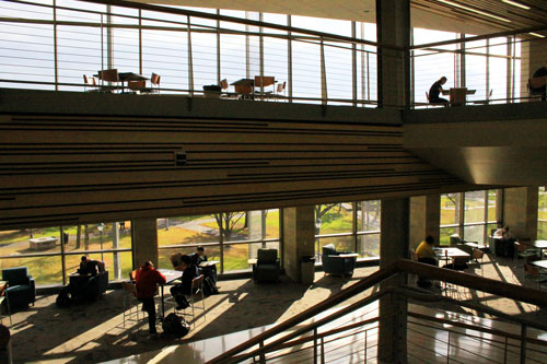 UW-Superior's students study a challenging curriculum in Swenson Hall.