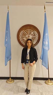 Angelica at the United Nations General Assembly
