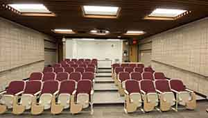 Additional projects involved the building's only sloped classroom
