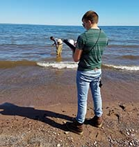 Lake Superior Research Institute Beach Monitoring
