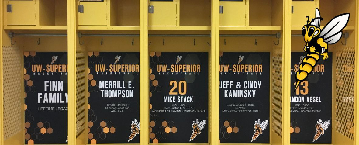 Men's Basketball Locker Stall Fundraiser