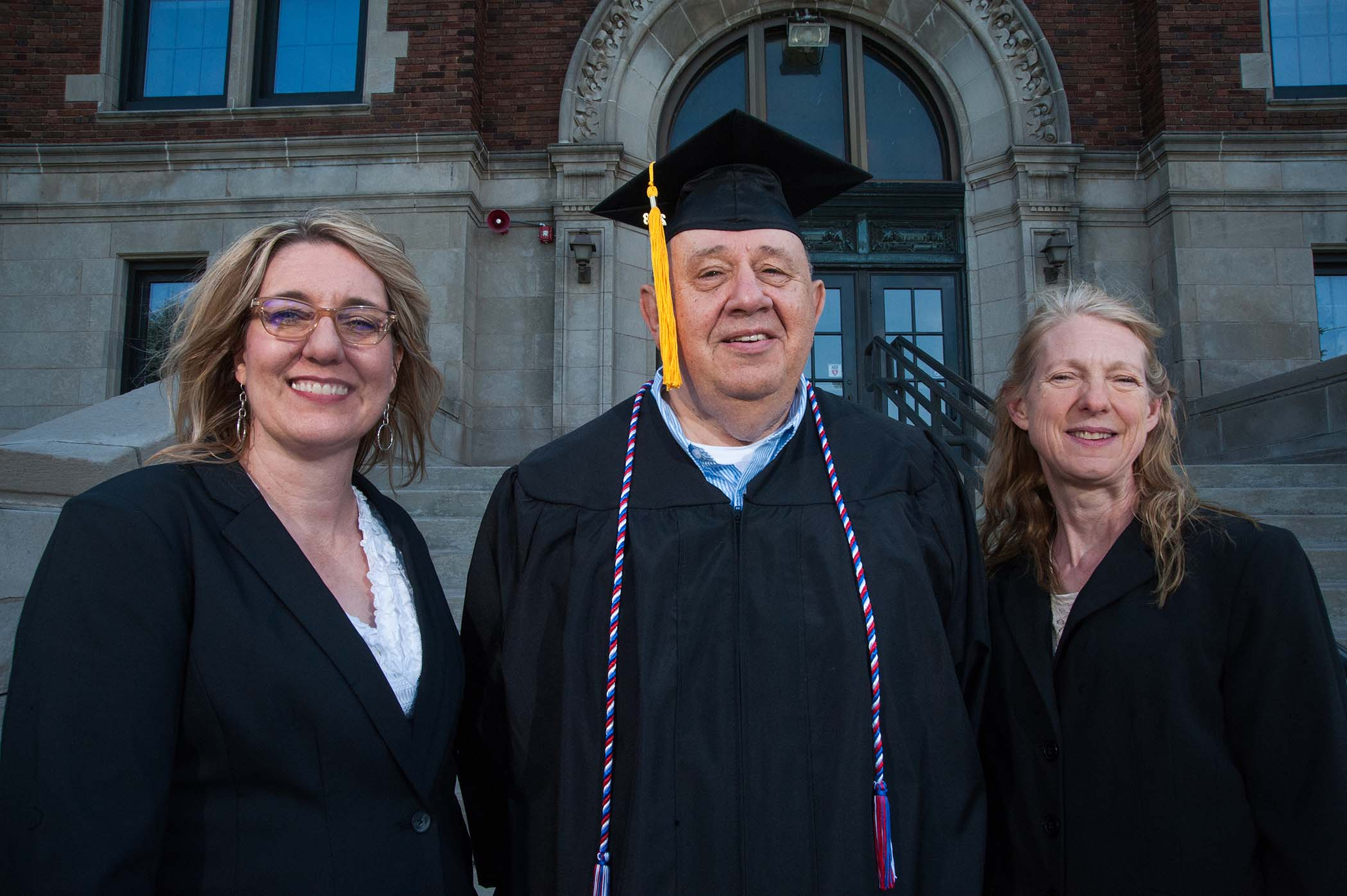 Phil Benkert with Beth Christopherson and Lynn Karna