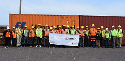 9th annual Rail and Intermodal Summer Youth Program at Duluth Terminal