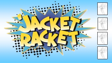 'Jacket Racket Punch Card