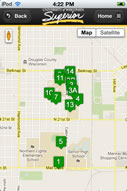 Mobile App - Campus Maps