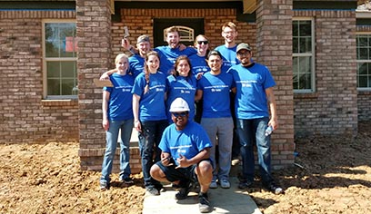 Several members of the student organization, Alternative Spring Break, spent their time assisting Habitat for Humanity in Birmingham, Ala.
