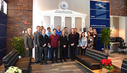 UW-Superior students attend Freight Transportation Symposium, tour Boston Scientific Corporation