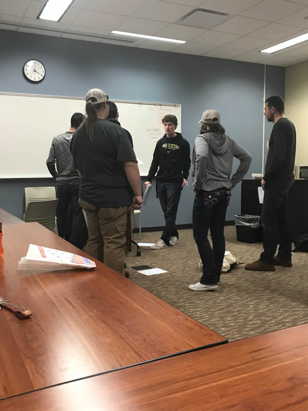 Criminal Justice Student Association hosts Crime Scene Investigation
