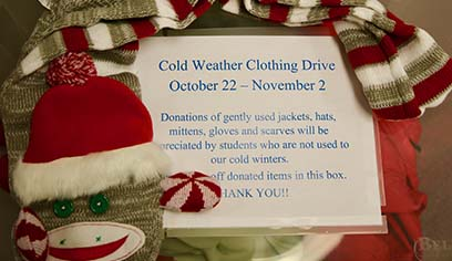 UW-Superior seeking donations of cold weather clothing