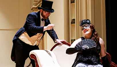 Students get second chance to perform in UW-Superior production of 'Die Fledermaus'