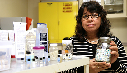 Rios Mendoza, colleagues awarded over $40,000 to study microplastics