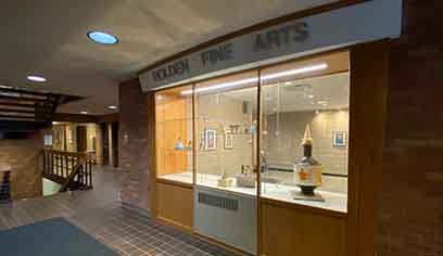 Renovations completed at Holden Fine and Applied Arts Center