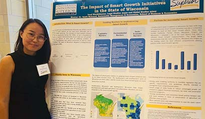 School of Business and Economics students present findings at Summer Undergraduate Research Symposium