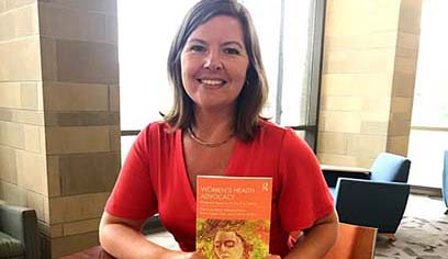 UW-Superior professor publishes new book on women's health and rhetoric