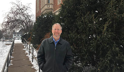 Jeff Kirschling, Registrar at UW-Superior, will be skiing in his first American Birkebeiner.