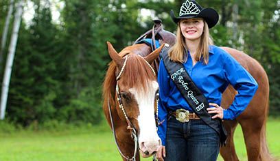 UW-Superior student rules as Rodeo Queen