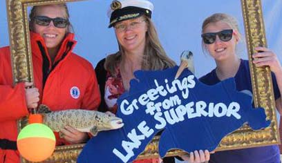 Celebrate the greatest lake July 21 on Barker's Island