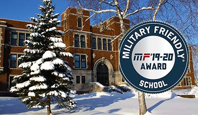 UW-Superior designated a Military Friendly® School for 10th consecutive year.