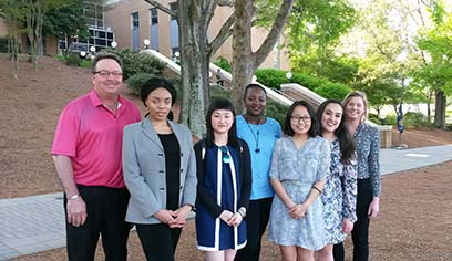 Students Present at National Conference on Undergraduate Research