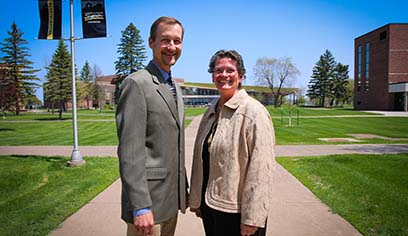 UW-Superior has appointed Nicholas Danz as dean of academic affairs and graduate studies, and Maria Stalzer Wyant Cuzzo as interim provost and vice chancellor for academic affairs.