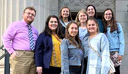 Students from University of Wisconsin-Superior's Pre-Law Society recently visited the University of Minnesota Law School for the annual Robert A. Stein Lecture featuring U.S. Supreme Court Justice Elena Kagan.