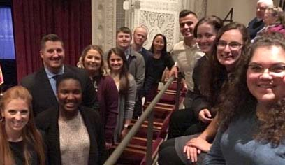 Students who heard United States Supreme Court Chief Justice Roberts speak said it was one of the highlights of their academic experience.