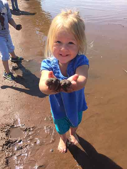 River Rovers, a free nature playgroup for children ages 3-7, began June 20 and runs every Thursday from 10 a.m. to noon until August 29 at the Lake Superior Estuarium, at 3 Marina Drive on Barker's Island in Superior.