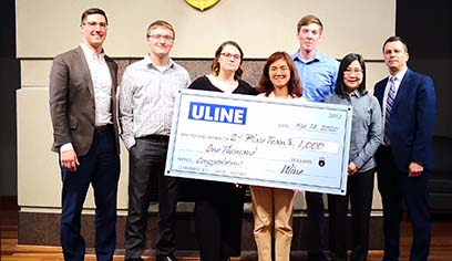 UW-Superior students take second in Supply Chain Management Competition