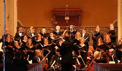 Music Department presents 22nd annual Season of Song concerts at Cathedral of Christ the King