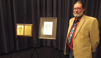 Platner inducted into Communicating Arts' Wall of Service