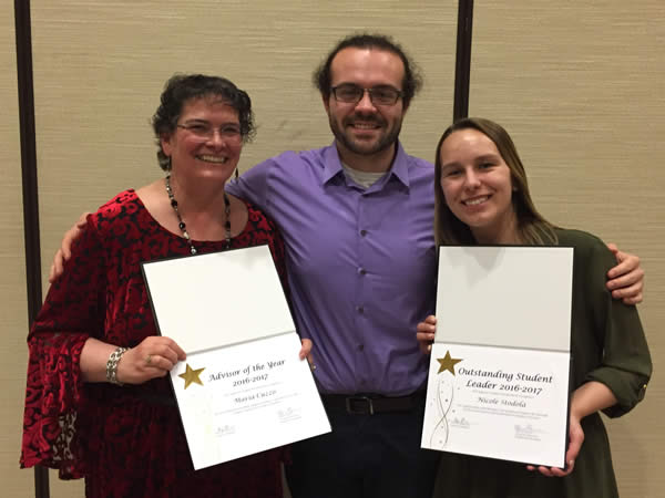 Legal Studies and Criminal Justice students honored