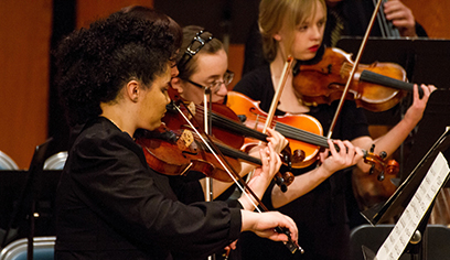 Orchestras from the Superior Middle and High School orchestras will join with the University of Wisconsin-Superior Chamber Strings for the fourth annual Superior String Day.