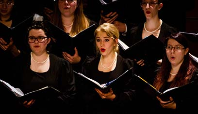 The University of Wisconsin-Superior Music Department presents its annual gala concert Superior Voices on Thursday, May 2, at 7:30 p.m. in Thorpe Langley Auditorium.