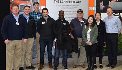 Students take part in IANA-sponsored intermodal spring break trip