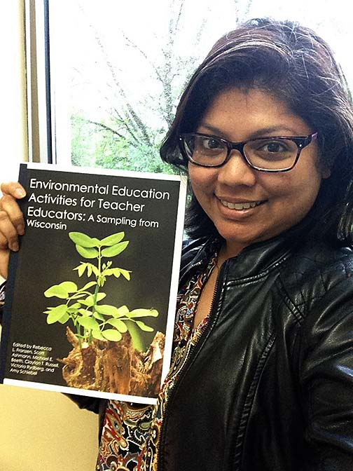 Tanzeem Ali and UWS Faculty Develop Environmental Education Resource Book