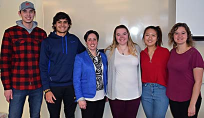 Alumna returns to speak with Transportation and Logistics Club