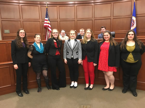 Mock Trial Team keeps winning with 4th place finish at University of St. Thomas Law School Invitational
