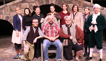 Under the direction of Dr. Jeffrey Madison, Senior Lecturer of Voice & Music History, several current and former UW-Superior music and theater students were selected by audition to perform in the upcoming Duluth Playhouse Underground Theatre production of Gilbert & Sullivan's Ruddigore.